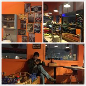 合并咖啡店